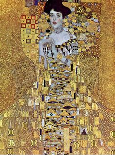 The Woman in Gold 1907, Gustav Klimt [WSJ 3/5/17]