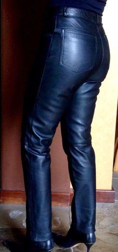 Vintage Michael Hoban North Beach Leather pants