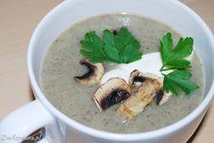 Lubicie #zupy-kremy? Tym razem w wersji #pieczarkowej :) Jamiiii :)