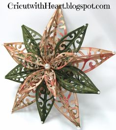 Fantabulous Cricut Challenge Blog: Thursday Tutorial - 3D Star