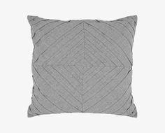 Umea Pintuck Pillow - Grey