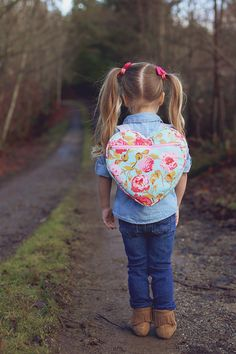 Heart Backpack Free Pattern Just so darling!!!