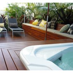 Built In Deck Seating Design Ideas, Pictures, Remodel, and Decor