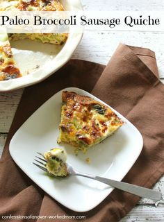 15 #Paleo Recipes for Mother's Day & Paleo Broccoli Quiche #Recipe @Foodie #sponsored