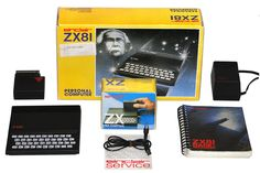 ZX81 computer with original box and manuals