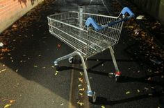 abandoned shopping trolley - Google Search