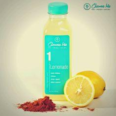 Zielone koktajle: iLemoniade = cytryna + cayenne + agawa + woda RABAT 10% na kod: zielonekoktajle na stronie: http://cleanseme.pl