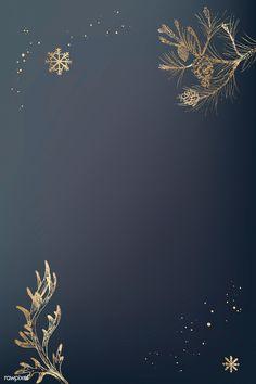 Bronze botanical pattern social background vector   premium image by rawpixel.com / Te Tree Illustration, Pattern Illustration, Illustrations, Background Patterns, Background Images, Paper Plants, Christmas Background Vector, Drawing Wallpaper, Christmas Tree Pattern
