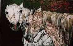 White Horses, Moose Art, Google, Animals, Image, Animales, Animaux, Animal, Animais
