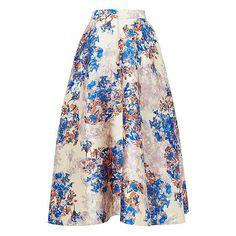 Kenton Emilia Print Skirt   Clothing   New Arrivals   Collections   L.K.Bennett, London