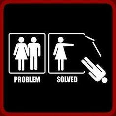 Problem solved. #leave #Narcissist