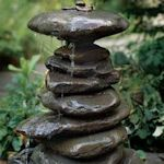 10 Lovely Water Feature Projects If you don't have the space or the time to devote to a garden pond, consider a small water fountain or container garden, they're easier to maintain and just as lovely. Here is a selection of free tutorials and projects that I've handpicked from around the 'net, most are very simple to put together and some even include plant ideas to try. Get Busy ..