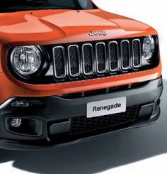 Jeep Renegade Front Grill - Piano Black - 71807403