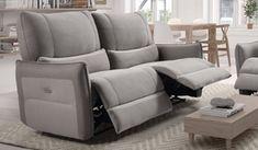 Canapé 3 places relax électrique - Dan