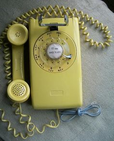 1961 Northern Electric 554 Series Wall Telephone