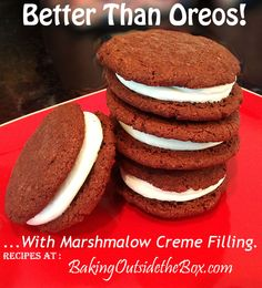 Baking Outside the Box | Better than Oreos Recipe using Brownie Bliss Mix-up