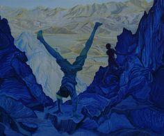 """Saatchi Online Artist Alice Brasser; Painting, """"Edge # 2"""" #art"""