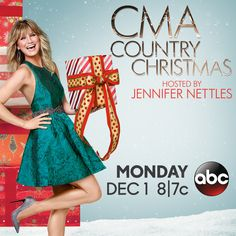 Kick off your holiday season with #CMAchristmas! See the lineup at CMAchristmas.com!