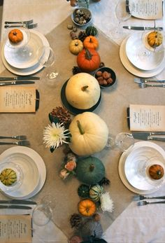 Fall Table Arrangements