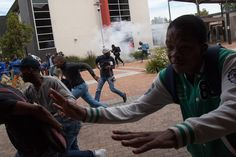 In Pictures: University of the Western Cape shut down There was utter chaos at the University of the Western Cape (UWC) on Wednesday when riot police clashed with student protesters and used rubber bullets, stun grenades and teargas. http://www.thesouthafrican.com/in-pictures-university-of-the-western-cape-shut-down/