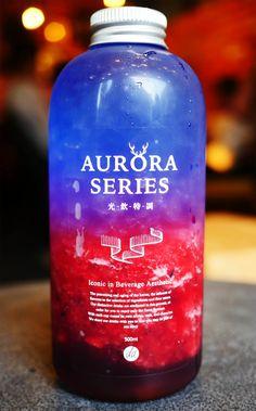 カラフル過ぎるオーロラドリンク 2回飲むと好きになり3回飲むと恋しくなる / THE ALLEY LUJIAOXIANG ジアレイ ルージャオシャン