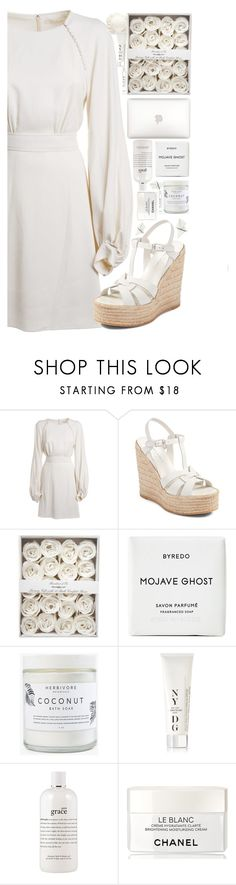 """""""Untitled #492"""" by cherryprincessannie ❤ liked on Polyvore featuring Chloé, Yves Saint Laurent, Byredo, Herbivore, NYDG, philosophy, Chanel and CLEAN"""