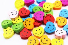 Smiley Heart Wooden Bead, Heart-shaped Wood Bead, Mixed Color Beads, Children Baby Accessories DIY C Diy Crafts Materials, Baby Accessories, Wooden Beads, Color Mixing, Really Cool Stuff, Heart Shapes, Baby Kids, Valentines, Smileys