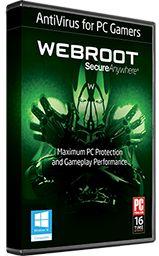 Webroot antivirus for gamers