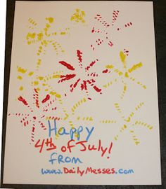 Daily Messes: Easy 4th of July Foods