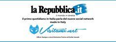 La Repubblica il primo quotidiano in Italia parla di Visitami.net e della conferenza stampa che si terrà domani a Le Chic Grill alle 18:00 http://napoli.repubblica.it/cronaca/2014/03/25/news/n asce_visitami_net-81899279/