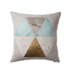 Rebecca Judd Loves Home Republic Cushion with marble detail