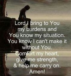 Comfort encouragement and strength faith god quote