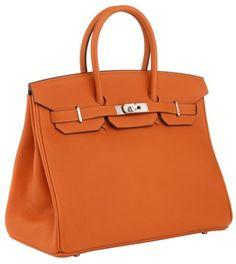 35cm Birkin Orange Togo With Phw - Lyst