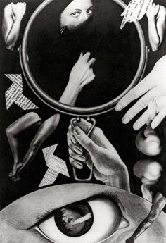 Claude Cahun. 'Aveux non avenus, planche III' 1929 - 1930 Gelatin silver print photomontage
