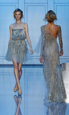 Elie Saab, Fall 2011 Couture #haute_couture #Paris #runway