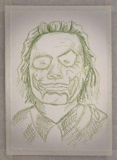 Joker Sketch, Heath Ledger Joker, Photo And Video, Artwork, Instagram, Work Of Art