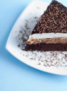 Triple Chocolate Terrine for Chocolate Monday!! -