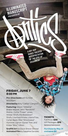 "CLICK THROUGH for Event & Ticketing info, #LAThtr, $30, Amida ""Shofu the Beatdown"" Shofu, Amy ""Catfox"" Campion, Antics, Curtis ""Creez"" Jones, Cyrian Reed, Dance, Dance/ Movement, Events, Garvin ""Gyroe"" Tran, Gilgamesh, Gilyon ""Gillatine"" Brace-Wessel, Highbrow, Hip-Hop, ILLUMINATED MANUSCRIPT, John ""Random1"" Molina, Kirlew ""Bliss"" Vilbon, Liliana Frias, Lisa Kapchinske, Live Music, Los Angeles, Mike ""Shockwave"" Hummer, Thomas Hampton Reviews"