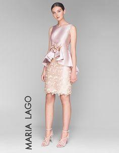 Vestido de fiesta Simple Dresses, Beautiful Dresses, Nice Dresses, Short Dresses, Formal Dresses, Chic Dress, Lace Dress, Dress Up, Couture Dresses