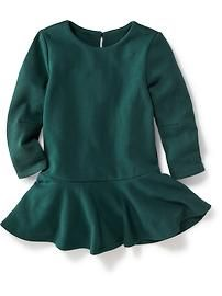 Floral Fleece Dress for Baby