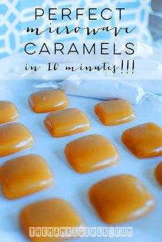 When you tell your grandma that you made caramels in less than ten minutes she won't believe you. And she may give you a skeptic look when you told her that you made them in the microwave. Until she bites into one of these soft microwave caramels, she will have her doubts about you....Read More »