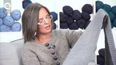 Realizzare una sciarpa a maglia N.1 Tecnica continentale ai ferri circolari per principianti