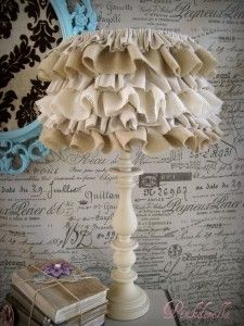 Image detail for -BURLAMP SHADE 225x300 Decorating with Burlap!~Newbie party Started....
