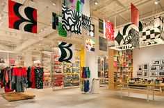 Design Milk LIVE at the Marimekko NYC Flagship Store!   marimekko images are so compelling