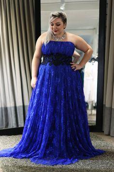 vestido de festa plus size para formatura 4