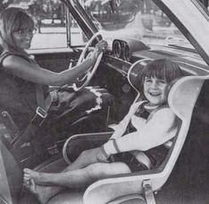 Rear Facing child safety car seats in Sweden since article gives history of inventor of RF seats based on astronauts facing opposite direction to acceleration to spread force across their bodies --- Extended Rear Facing, Rear Facing Car Seat, Vintage Ads, Vintage Photos, Airline Travel, Car Crash, Child Safety, Baby Wearing, Vintage Children