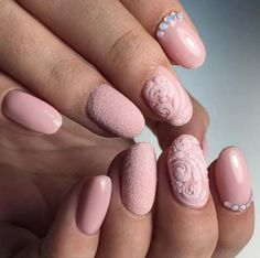 Wedding Nail Art Designs - Sweet Sugar Pink - Beautiful And Classy Nailart and Nail Ideas for The Bride and The Bridesmaid that you will Love. These posts contain Ideas For French Manicures, Silver, Blue, Red, Pale Pink, Simple, And Sparkle Nail Ideas. There Are Step By Step Tutorials And Make For Awesome Bling For Weddings, Prom, Graduation, or any Event On The Town - http://thegoddess.com/wedding-nail-art-design