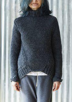 Erika Knight Tuesday Sweater Knitting Pattern