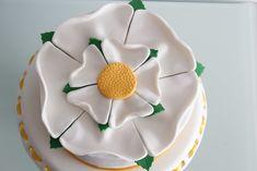 Yorkshire Rose Cake