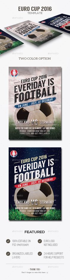 Retro Football Flyer Template Retro football, Flyer template and - football flyer template